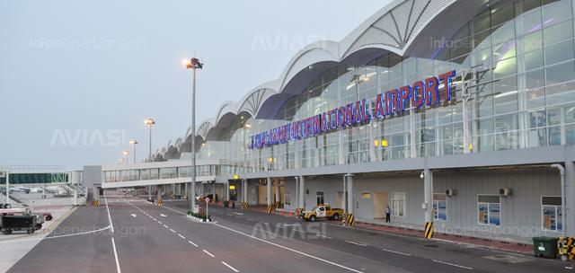 Ilustrasi Bandara Kualanamu