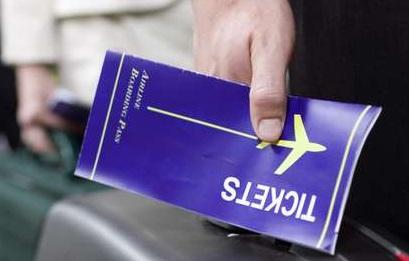 Tiket penerbangan
