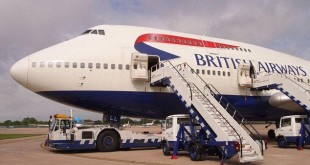 Pesawat British Airways/Istimewa