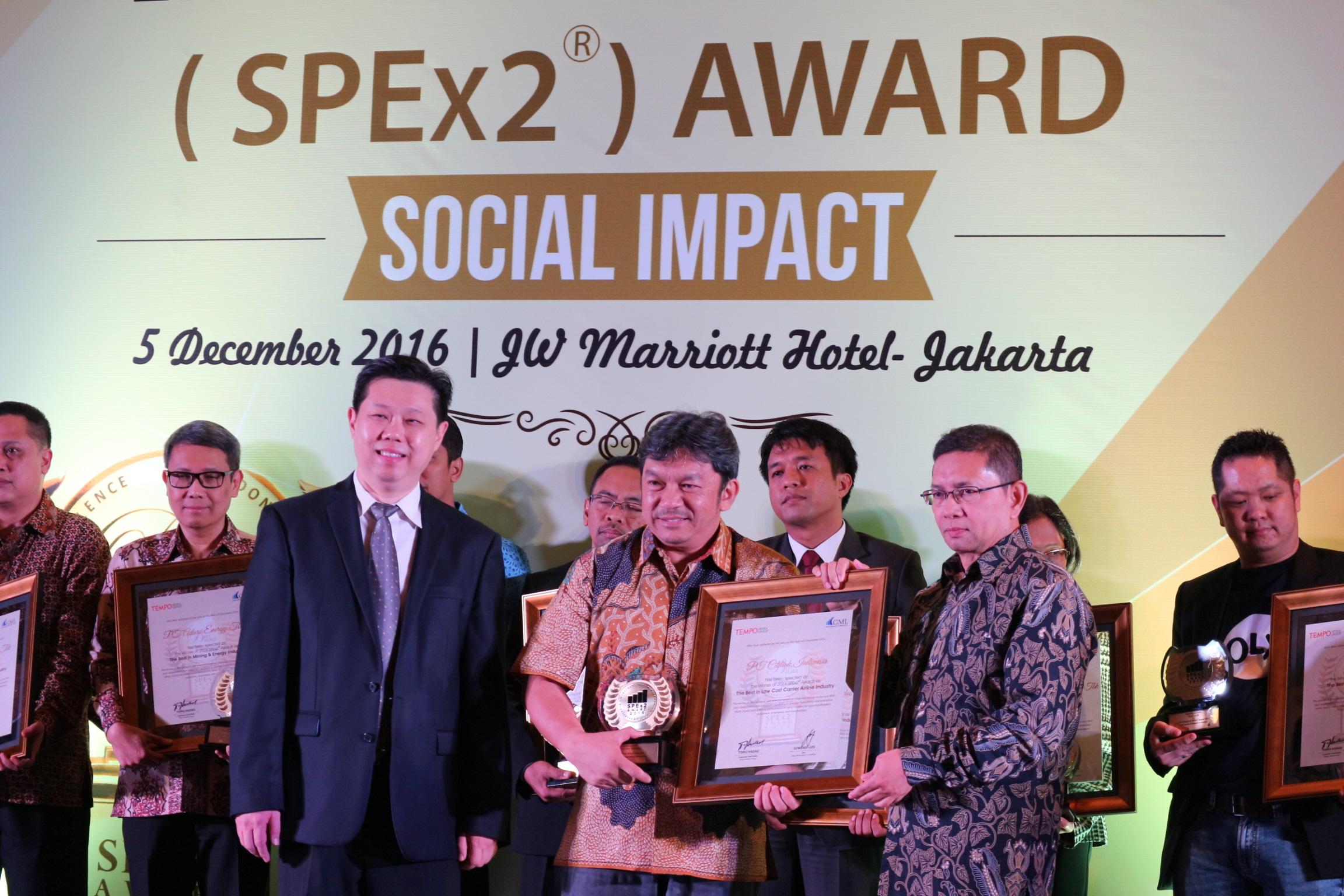 CITILINK RAIH PENGHARGAAN SPEX2 AWARDS