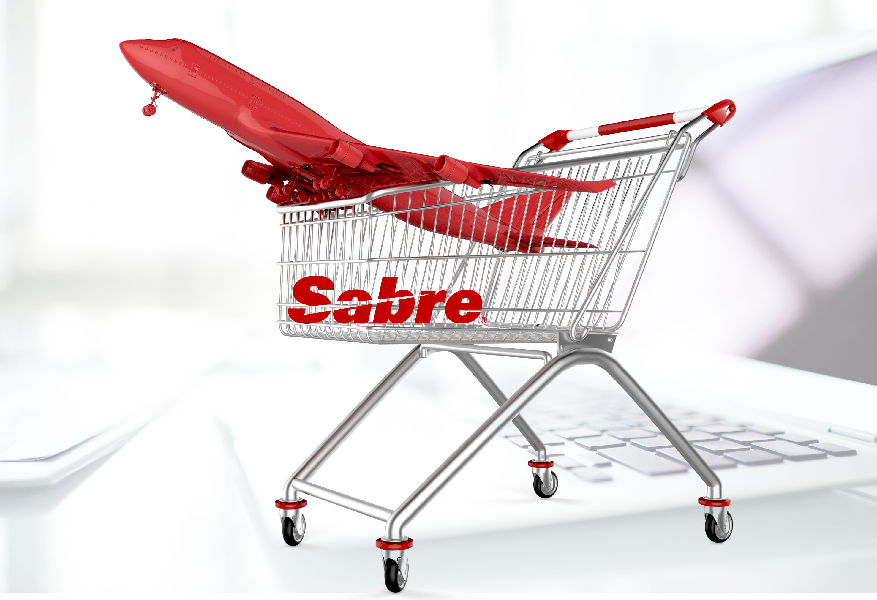 shop cart and aircraft